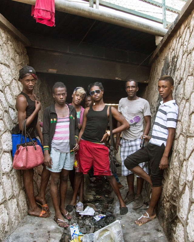 Homeless LGBT youths living in the sewers of New Kingston. (BuzzFeed photo by J. Lester Feder)
