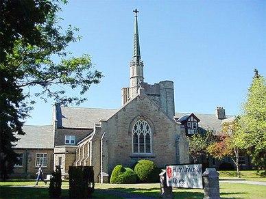 Huron University College Chapel (Photo: Wikipedia)