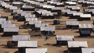Kakuma refugee camp in Kenya, where most Ugandan refugees are held (Photo courtesy of Ephemerian)