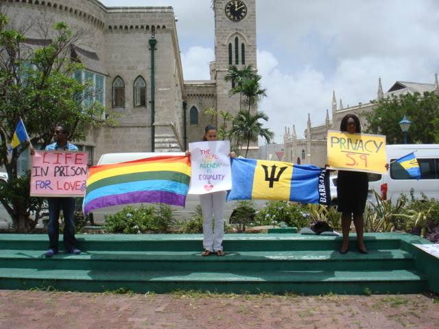 Small stand in Barbados in August 2015. (Photos courtesy of Maurice Tomlinson)