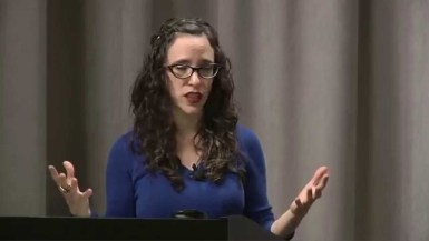 Jessica Stern, executive director of IGLHRC (Photo courtesy of YouTube)