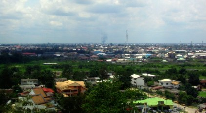 Overview of Port Harcourt, Nigeria (Photo by  Kalabarian via Wikimedia Commons)