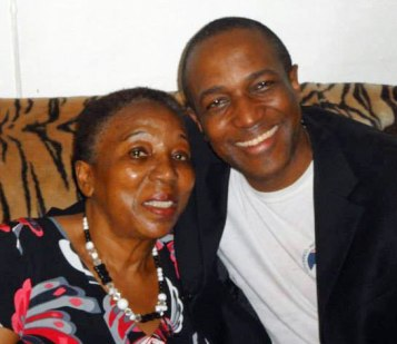 Jamaican activist Maurice Tomlinson and his mother (Photo courtesy of Maurice Tomlinson)