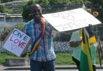 Activist/attorney Maurice Tomlinson helped organize Montego Bay Pride, Jamaica, on Oct. 25, 2015. (Photo courtesy of Maurice Tomlinson)