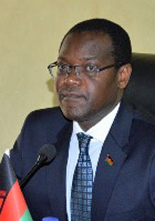 Samuel Tembenu, Malawi's minster of justice and constitutional affairs. (Photo courtesy of maravipost.com)