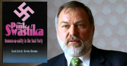 "Scott Lively is an author of ""'The Pink Swastika: Homosexuality in the Nazi Party,"" which promotes the discredited view that homosexuals were to blame for many of evils of Nazi Germany. (Photo courtesy of GodDiscussion.com)"