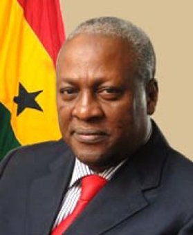 Ghana President John Dramani Mahama (Photo courtesy of Vibe Ghana)