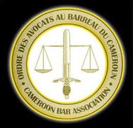 Logo of the Cameroon Bar Association.