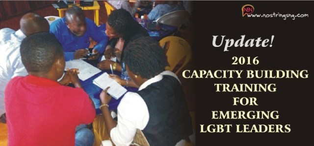 Capacity Building Training for Emerging LGBT Leaders
