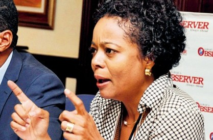 Jamaican Attorney General Marlene Malahoo-Forte (Photo courtesy of the Jamaica Observer)