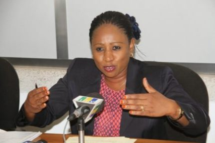 Tanzanian Health Minister Ummy Mwalimu claims that lubricants encourage homosexuality. (Photo courtesy of Alchetron.com)