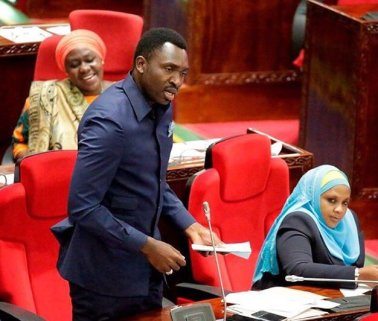 Hamisi Kigwangalla, Tanzanian member of parliament and deputy health minister, called for the arrest of three men for allegedly promoting homosexuality. (Photo courtesy of Twitter)