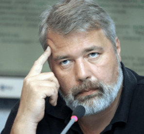 Dmitry Muratov, chief editor of Novaya Gazeta