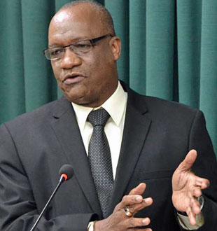 Joseph Harmon (Photo courtesy of Guyana Chronicle)