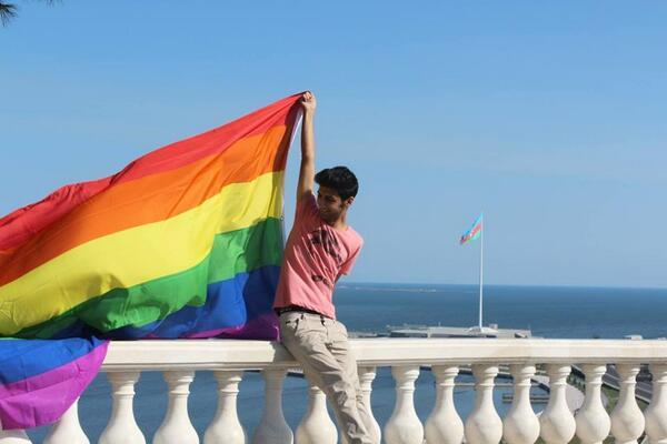 Isa Shahmarly, former chair of the Free (Azad) LGBT group, whose experience as a gay man in Azerbaijan drove him to suicide. (Azadliq Radiosu photo courtesy of RFE/RL and HRW)