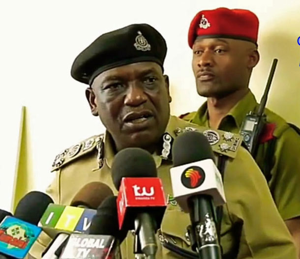 Lazaro Mambosasa, police chief of Dar es Salaam, Tanzania. (Photo courtesy of YouTube)