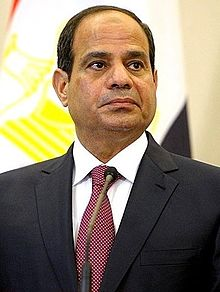 Egyptian President Abdel Fattah el-Sisi (Photo courtesy of WIkipedia)
