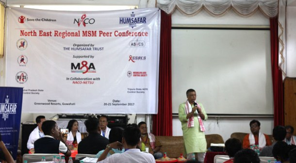 Conference in Guwahati, India, focused on LGBT issues. (Photo courtesy of Eclectic Northeast)