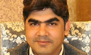 Taimur Kamal, coordinator of the Pakhtunkhwa Civil Society Network (Photo courtesy of Front Line Defenders)