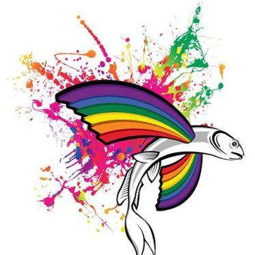 A Barbados Pride logo