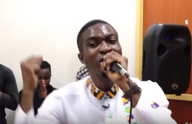 Scene during worship at the Cosmopolitan Church in Nairobi, Kenya. (Photo courtesy of YouTube)