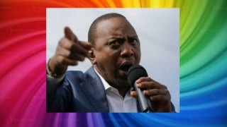 "Kenyan President Uhuru Kenyatta: Gay rights are ""of no importance."""
