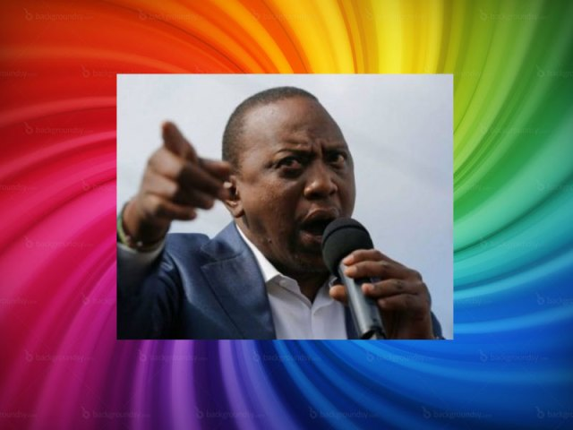 "Kenyan President Uhuru Kenyatta: Gay rights are ""of no importance."""