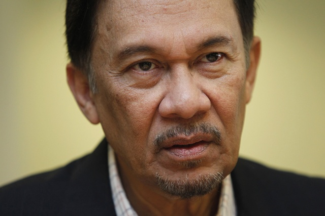 Anwar Ibrahim of Malaysia (Photo courtesy of HRW)