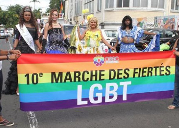 In 2015, LGBT citizens of Mauritius celebrated their 10th Pride March. (Photo courtesy of Indian Ocean Times)