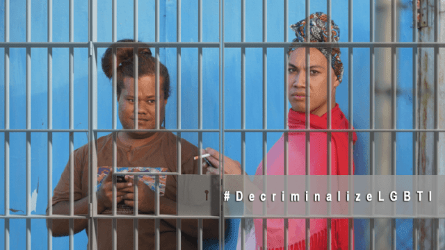 Graphic for the Pacific Islands decriminalization petition.