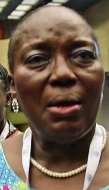 Gay rights opponent Rebecca Kadaga, speaker of the Ugandan parliament