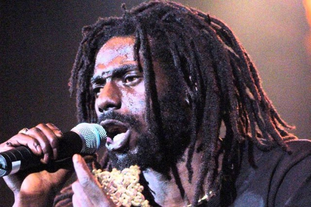 "Pastor Omar Oliphant said of singer Buju Banton, """"I hear that dem releasing Buju Banton in December, and I can't wait for his return, because him have a song weh seh boom bye-bye ... yuh know I can't say di words,"" )"