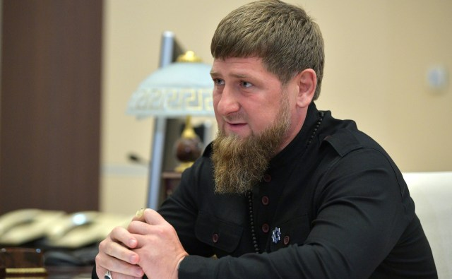 Chechen leader Ramzan_Kadyrov, who denies that there are any gays in Chechnya. (Kremlin photo via Wikimedia Commons)