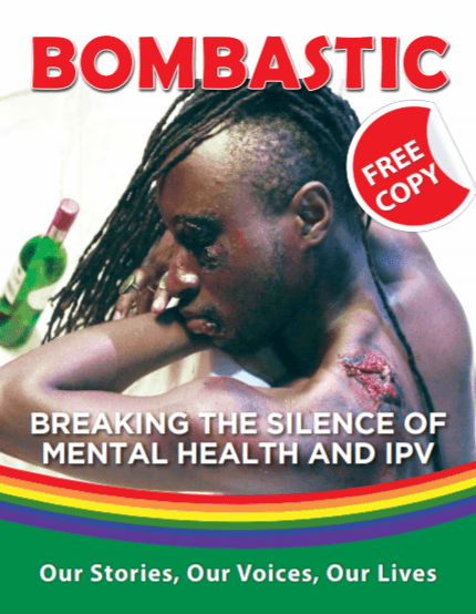 """Cover of the fourth edition of """"Bombastic"""" magazine. (Photo by Kuchu Times)"""