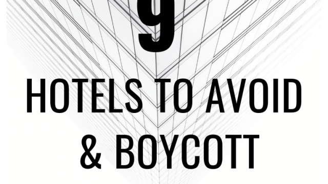 Celebrities and activists are boycotting these nine hotels, owned by Brunei.