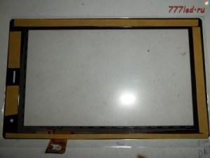 Замена сенсорного экрана ( тачскрин ) планшета от мегафона.