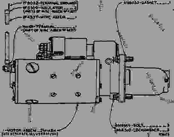 Caterpillar Starter Wiring Diagram On 3208 Cat Engine