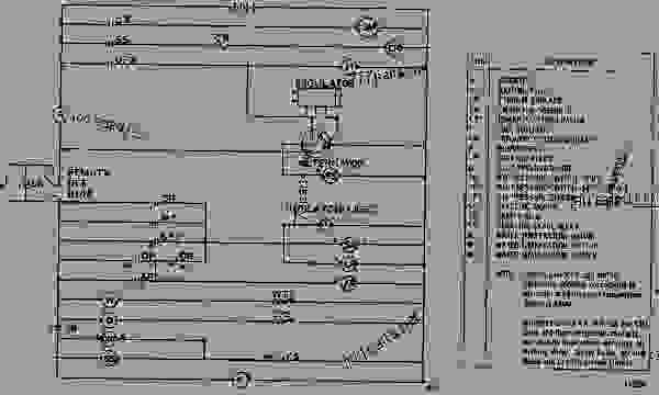 WIRING DIAGRAM ENGINE GENERATOR SET Caterpillar 3150 3150
