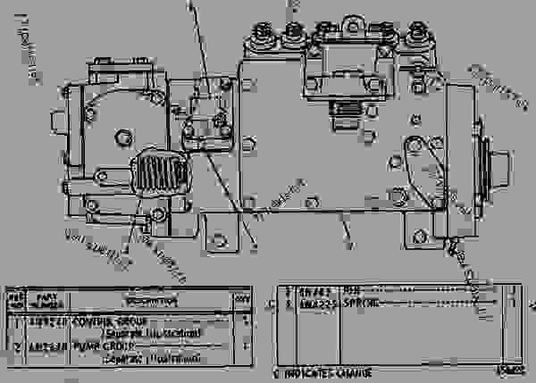 Caterpillar Fuel Transfer Pump, Caterpillar, Free Engine
