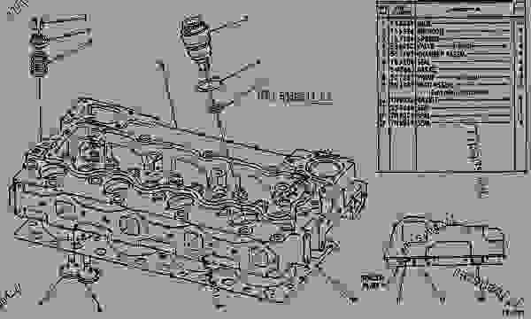 caterpillar 3304 parts diagram