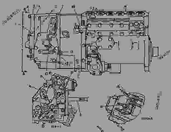[DIAGRAM] 3306 Cat Engine Diagram