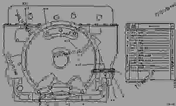 9J7266 CASE GROUP-HYDROSTATIC POWER HYDROSTATIC POWER CASE