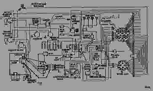 electric hydraulic pump wiring diagram 2000 jeep grand cherokee limited stereo - wheel tractor-scraper caterpillar 657b tractor 68k00001-00892 (machine ...