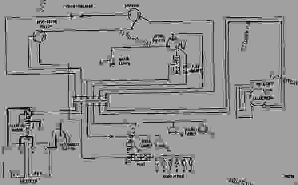 parts scheme wiring diagram 24 volt system excavator caterpillar