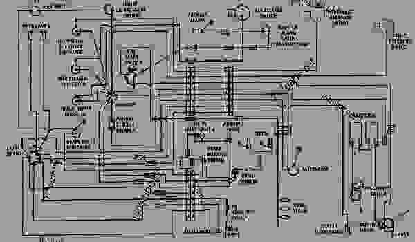parts scheme wiring diagram engine machine caterpillar d343 824b