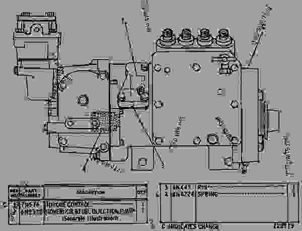 3306 cat engine timing marks diagram