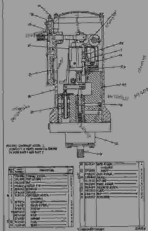Caterpillar 3054c Parts Diagram Caterpillar 955L Parts