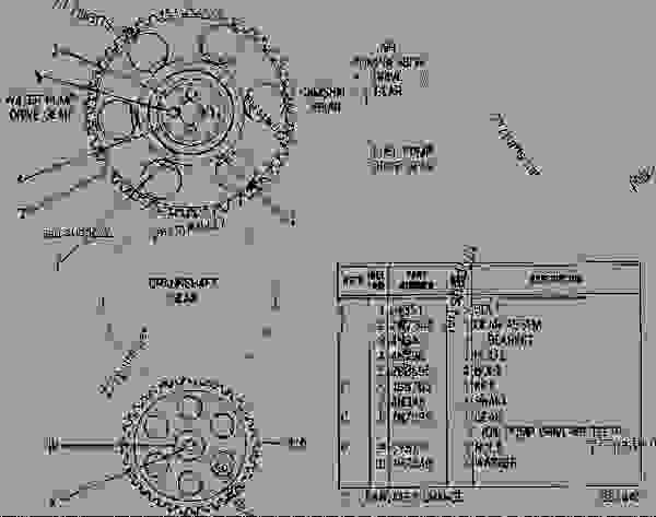 4N2274 GEAR GROUP-FRONT TIMING FRONT TIMING GEAR GROUP