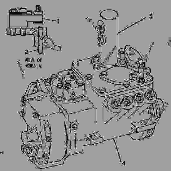 7C9496 PUMP GROUP-GOV & FUEL INJ PUMP GP-GOVERNOR & FUEL