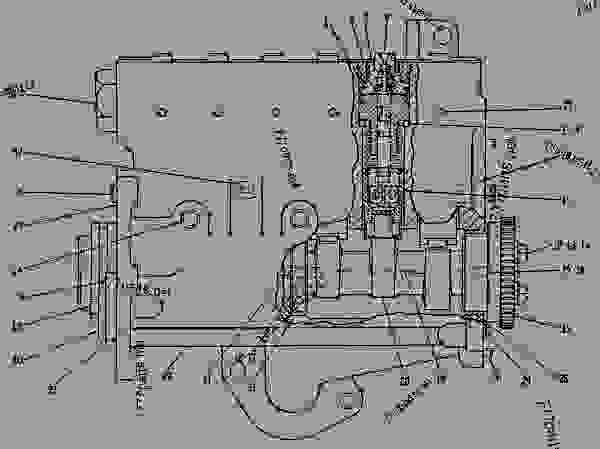Industrial 3208 Cat Engine, Industrial, Free Engine Image